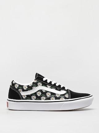 Buty Vans Comfycush Old Skool (scribble flower daisy/black)
