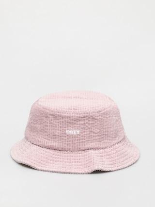 Kapelusz OBEY Bold Cord Bucket (dusty rose)