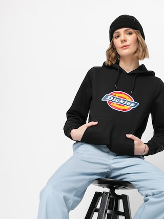 Bluza z kapturem Dickies Icon Logo HD Wmn (black)