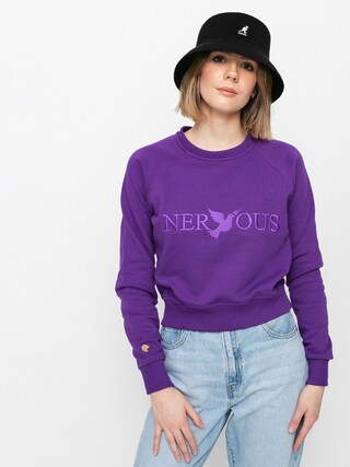 Bluza Nervous Classic Crew Wmn (purple)