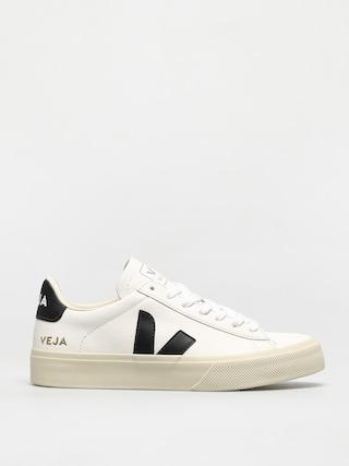 Buty Veja Campo Wmn (chromefree leather white black)