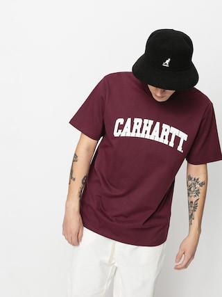 T-shirt Carhartt WIP University (shiraz/white)