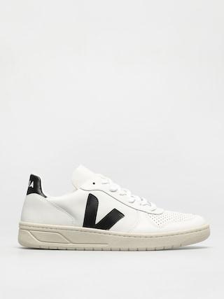 Buty Veja V-10 (leather extra white black)