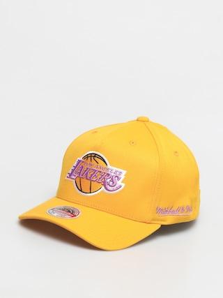 Czapka z daszkiem Mitchell & Ness Dropback Solid Redline ZD (los angeles lakers/yellow)