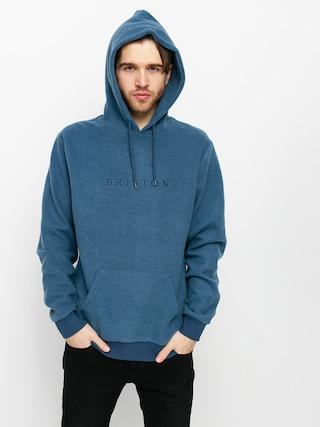 Bluza z kapturem Brixton Alpha Line HD (joe blue)