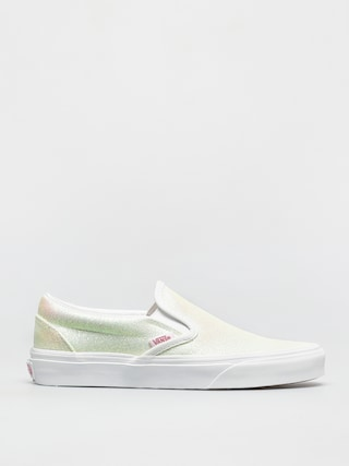Buty Vans Classic Slip On (uv glitter pink/true white)