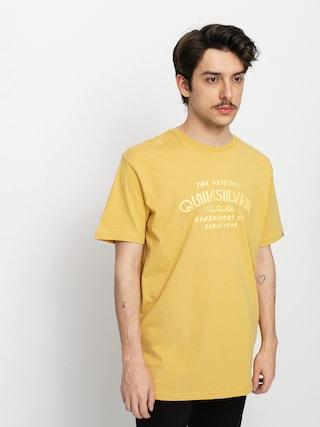T-shirt Quiksilver Wider Mile (rattan)