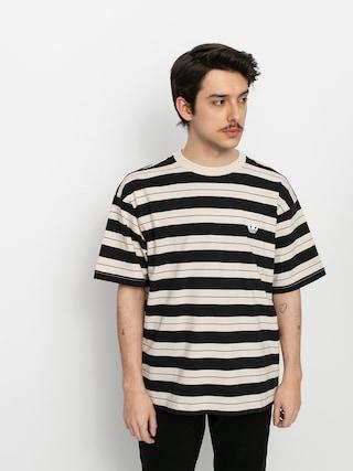T-shirt adidas Yarn Dye (black/halivo/greoxi)