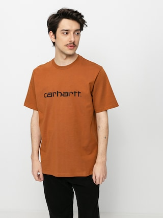 T-shirt Carhartt WIP Script (rum/black)