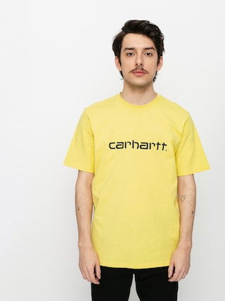 T-shirt Carhartt WIP Script (limoncello/black)