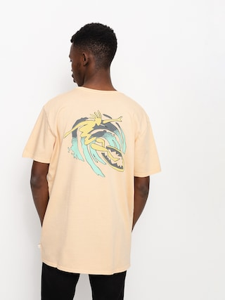 T-shirt Quiksilver Island Pulse (apricot)