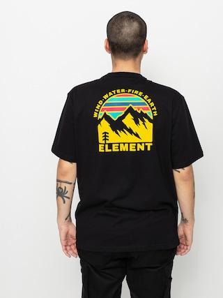 T-shirt Element Foxwood (flint black)