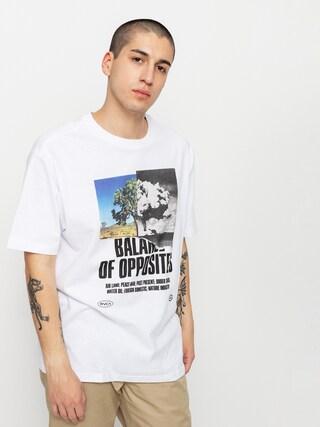 T-shirt RVCA Split Truth (white)