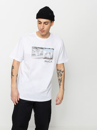 T-shirt RVCA Balance Box (white)
