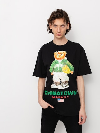 T-shirt Chinatown Market Smiley Sketch Basketball Bear (black)