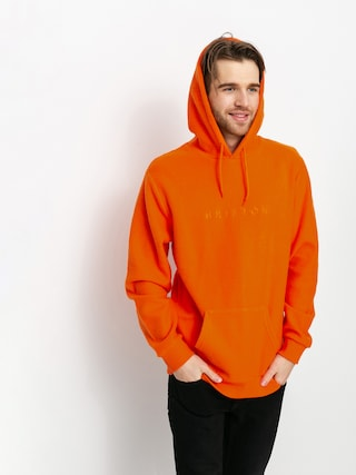 Bluza z kapturem Brixton Alpha Line HD (carrot)