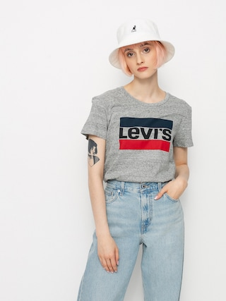 T-shirt Levi's® The Perfect Wmn (sportswear logo smokestack)