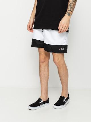 Szorty Fila Yamato (black/bright white)
