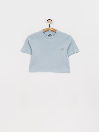 T-shirt Dickies Porterdale Crop Wmn (fog blue)