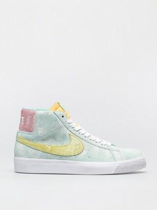 Buty Nike SB Zoom Blazer Mid Premium (light dew/lt zitron green glow)