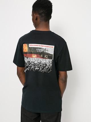 T-shirt Volcom Worlds Collide (black)