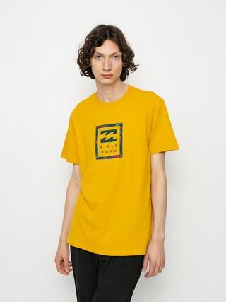 T-shirt Billabong Unity Stacked (mustard)
