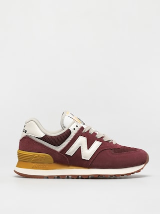 Buty New Balance 574 Wmn (red/yellow)