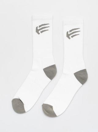 Skarpetki Etnies Joslin (white/grey)