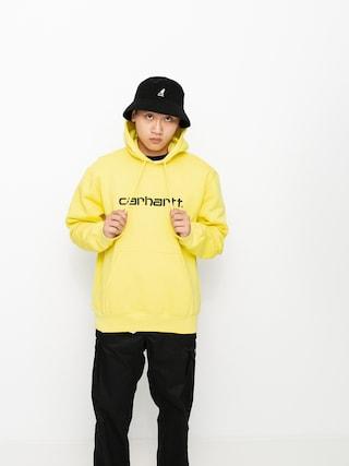 Bluza z kapturem Carhartt WIP Sweat HD (limoncello/black)