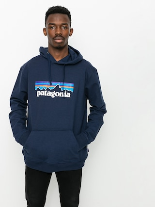 Bluza z kapturem Patagonia P6 Logo Uprisal HD (classic navy)