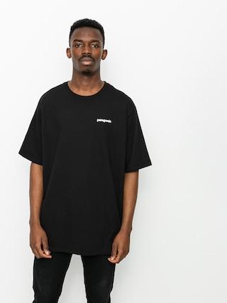 T-shirt Patagonia P6 Logo Responsibili (black)