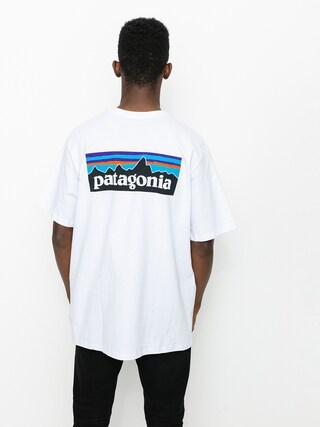 T-shirt Patagonia P6 Logo Responsibili (white)