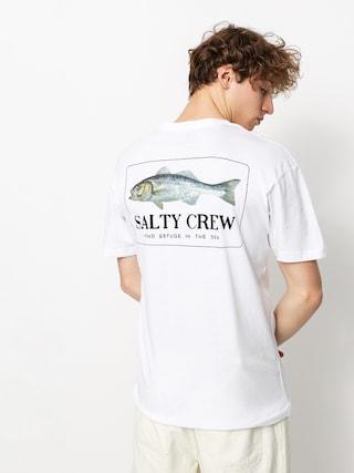 T-shirt Salty Crew Branzino Premium Mens (white)