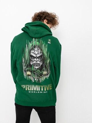 Bluza z kapturem Primitive Doom HD (dark green)