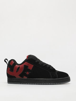 Buty DC Court Graffik (black/red print)