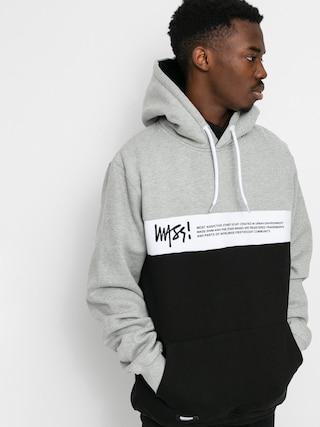 Bluza z kapturem MassDnm Special HD (light heather grey/black)