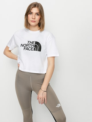 T-shirt The North Face Cropped Easy Wmn (tnf white)