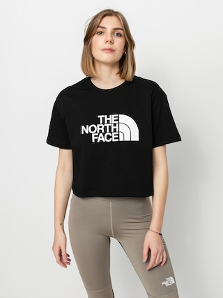 T-shirt The North Face Cropped Easy Wmn (tnf black)