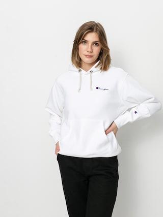 Bluza z kapturem Champion Sweatshirt HD 113150 Wmn (wht)