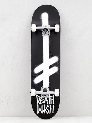 Deskorolka Deathwish Gang Logo (black/white)