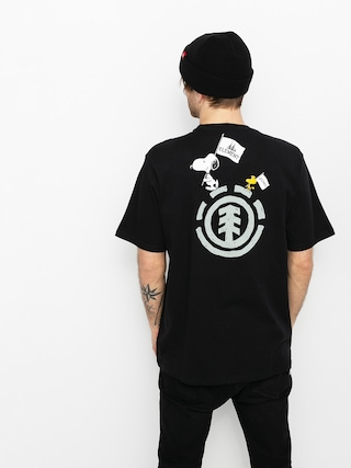 T-shirt Element Peanuts Slide (flint black)