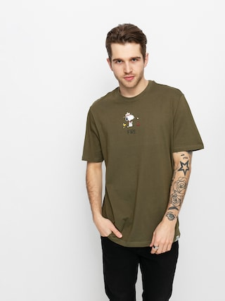 T-shirt Element Peanuts Element (army)