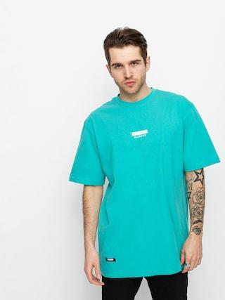 T-shirt MassDnm Classics Small Logo (turquoise)