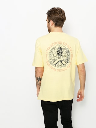 T-shirt Volcom Gridlock (dawn yellow)