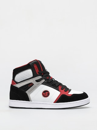 Buty DVS Honcho (white black red suede)