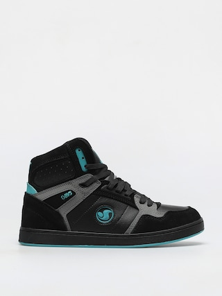 Buty DVS Honcho (black charcoal turquois suede)