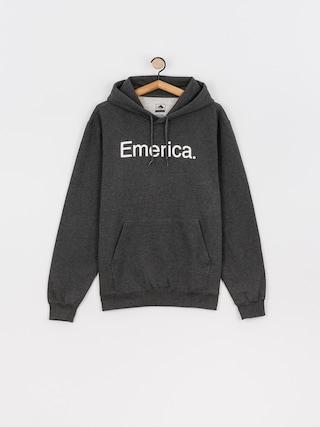 Bluza z kapturem Emerica Pure Logo HD (charcoal/heather)