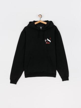 Bluza z kapturem eS Cutout HD (black)