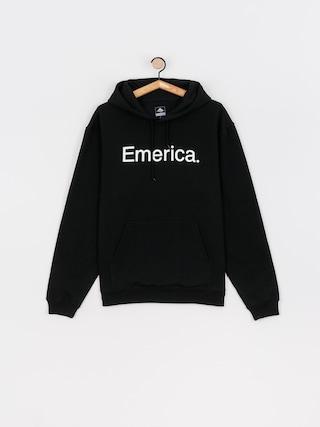 Bluza z kapturem Emerica Pure Logo HD (black)