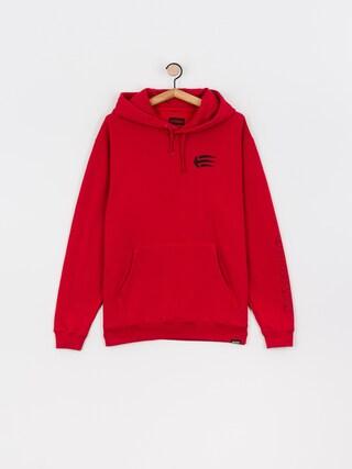 Bluza z kapturem Etnies Joslin HD (red/black)